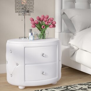 Willa Arlo Interiors Kaczor 2 Drawer Nightstand