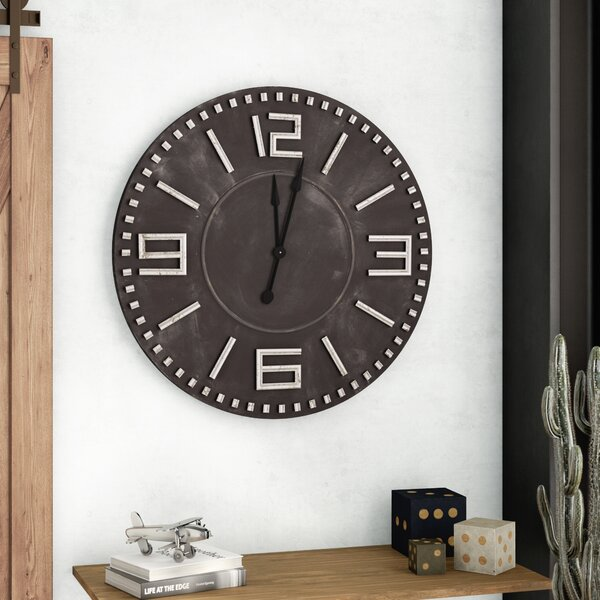 Trent Austin Design Lancaster 42 Quot Brown Black Wall Clock