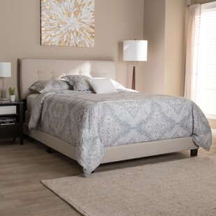 Preusser Modern Upholstered Panel Bed