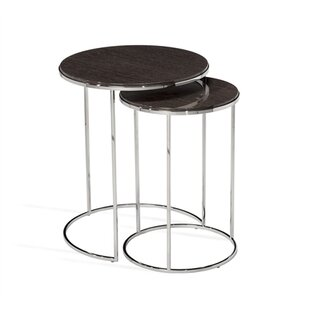 Jax 2 Piece Nesting Tables by Interlude