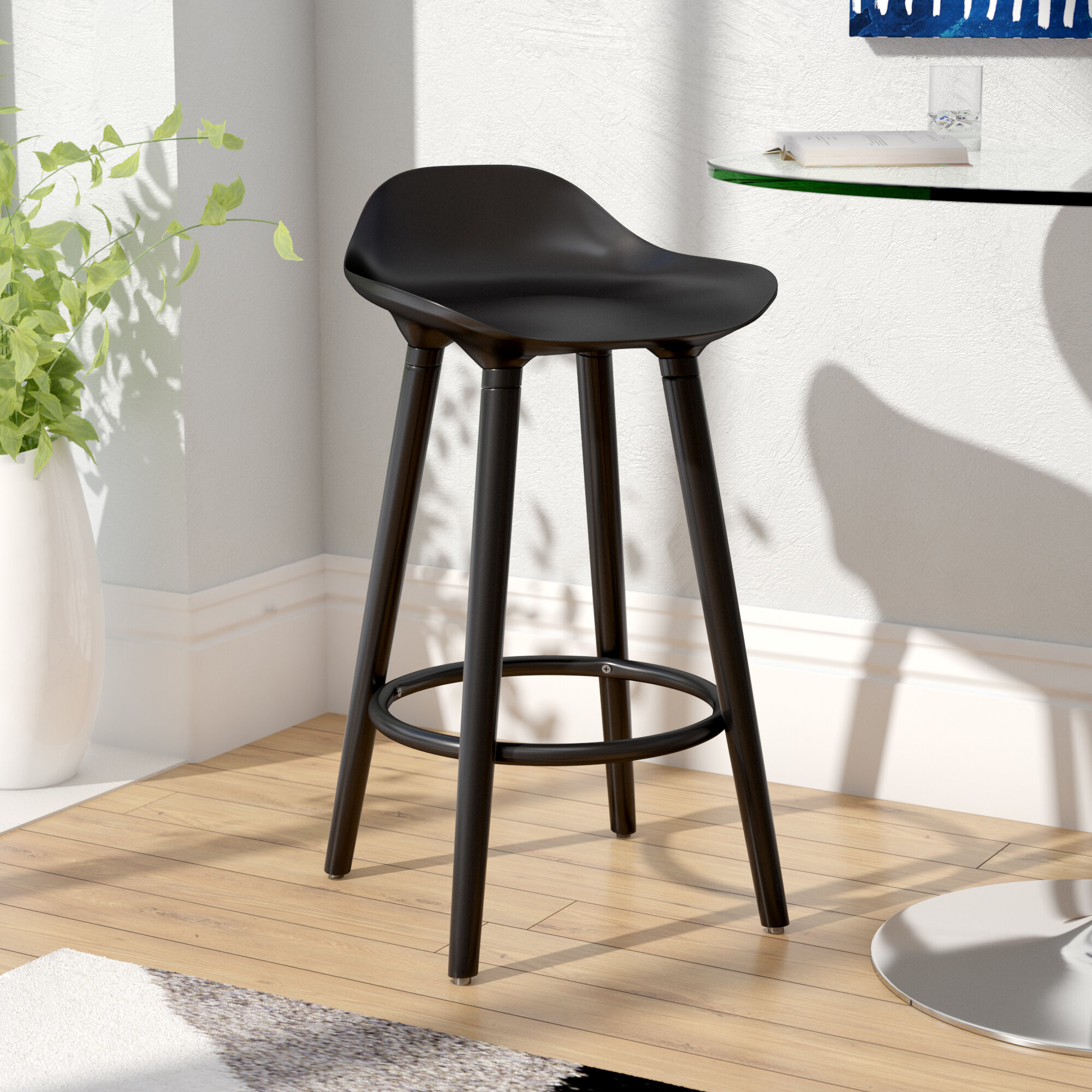 Wade Logan Escalon 25 Bar Stool Reviews Wayfair