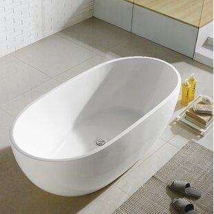 Miura 61 x 30 Freestanding Soaking Bathtub