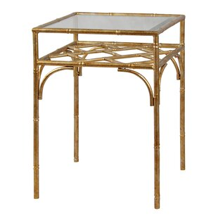 Dunbar Bamboo Styled End Table