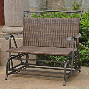 Polly Indoor/Outdoor Double Glider Bench By Three Posts