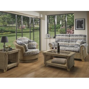 Cynthia 4 Piece Conservatory Sofa Set By Beachcrest Home
