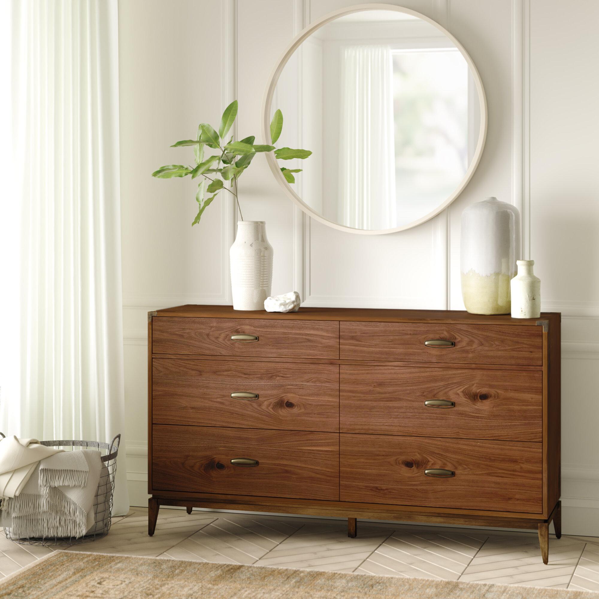Huntsville 6 drawer double dresser