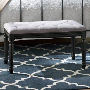 Vasilia Upholstered Bench by Charlton Home