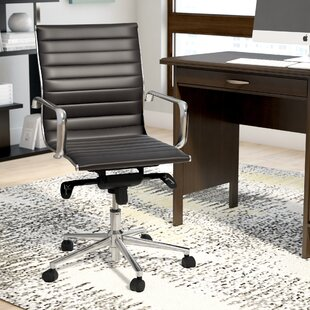 Review Annabell Mid-Back Desk Chair by Wade Logan
