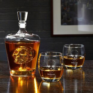 d4237923863 Whiskey Decanter Monogram Beverage Servers You'll Love in 2019 | Wayfair
