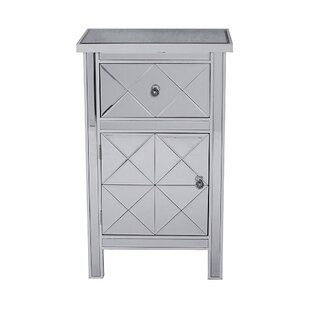 House of Hampton Cohle 1 Door Accent Cabinet