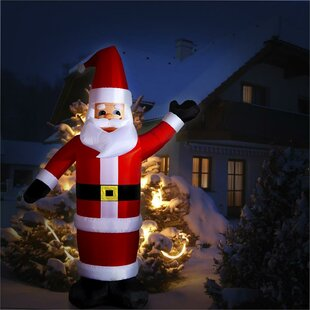Santa Claus LED Inflatable By OneConcept