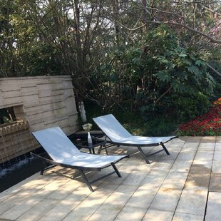 Matoury Sun Lounger Set with Table