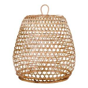 Bamboo or rattan lamp shades wayfair montpelier 40cm rattan lamp shade aloadofball Gallery