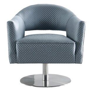 Darian Swivel Tub Chair By Canora Grey