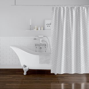 Poplar Single Shower Curtain by Ivy Bronx Great Reviews