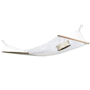 Jonell 2 Person Rope Cotton Camping Hammock by Beachcrest Home