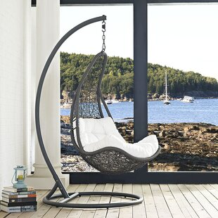 Gemmenne Swing Chair With Stand by World Menagerie Best #1