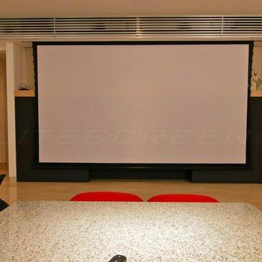 Elite Screens Cinetension2 Cinewhite 110 Diagonal Electric Projection Screen Wayfair