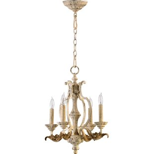 Where buy  Guyette 4-Light Candle Style Chandelier By Lark Manor