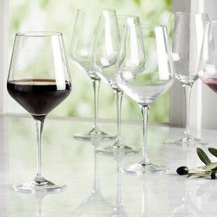 Nutmeg 22 oz. Crystal Stemmed Wine Glass (Set of 6)