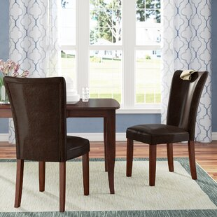 Fenley Parsons Upholstered Dining Chair (Set of 2) Winston Porter