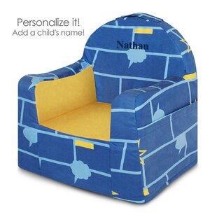 Affordable Little Reader Kids Microfiber Chair ByP'kolino