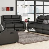Mcpeak 3 Piece Living Room Set by Latitude Run®
