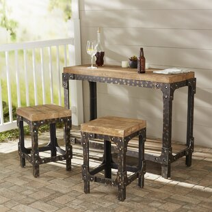 Almirante 3 Piece Dining Set