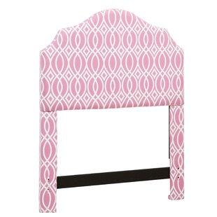 Harriet Bee Feltman Upholstered Panel Headboard