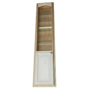 WG Wood Products In The Wall Standard Bookcase