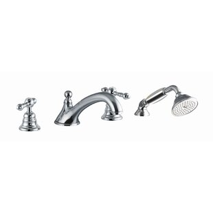 Review Epoque Deck Mount Thermostatic Tub Faucet with Hand Shower by Fima by Nameeks
