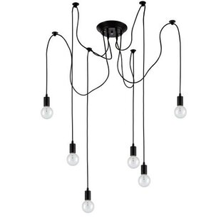 Edison 6 Light Cluster Pendant (Set of 6) by OHR Lighting