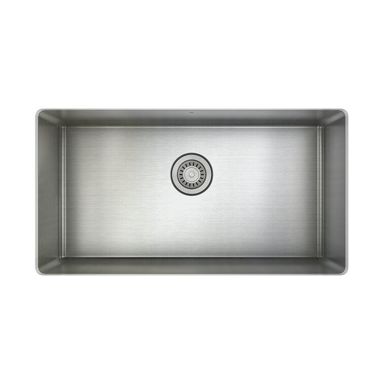 Prochef By Julien Proinox H75 30 L X 16 Wundermount Kitchen Sink Wayfair