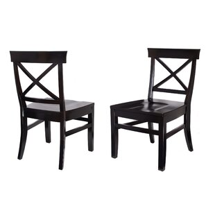 Solid Wood Dining Chair (Set of 2) by Bir..