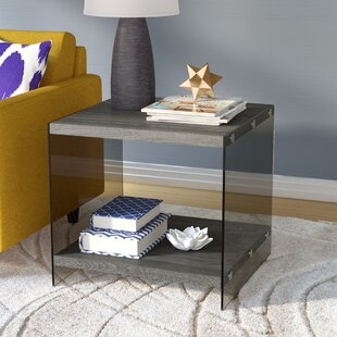 Check Prices Timon End Table By Mercury Row
