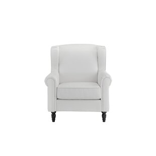 Charlton Home Riverwoods Wingback Chair