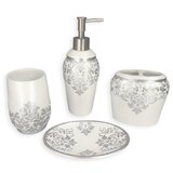 Navin Ettore 4 Piece Bathroom Accessory Set