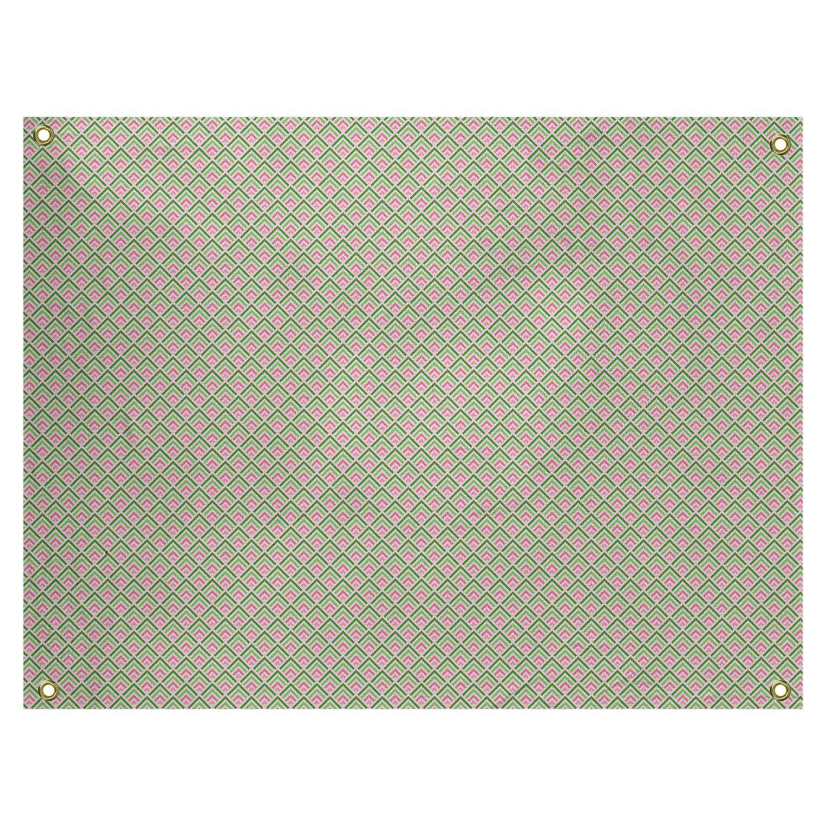 Ebern Designs Kitterman Ombre Geometric By Katelyn Elizabeth Tapestry Wayfair