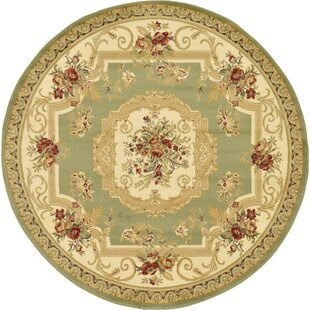 Patton Green Area Rug by Charlton Home