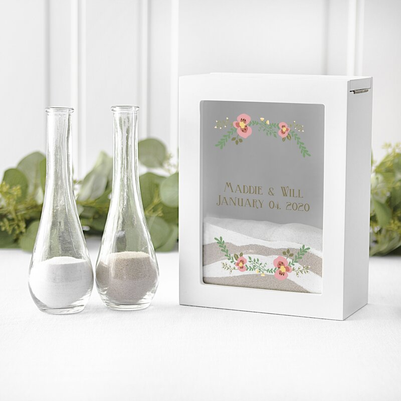 Cathys Concepts Ceremony Unity Candles and Sand | Wayfair