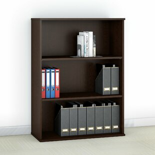 Easy Office 3 Shelf Standard Bookcase
