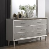Brough 6 Drawer Double Dresser by Mercer41