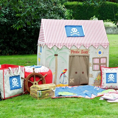 Zoomie Kids Walcott Pirate 3.58' x 2.42' Playhouse