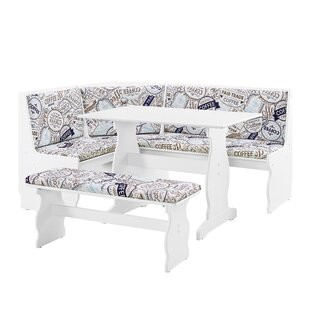 Olivia Nook 3 Piece Dining Set