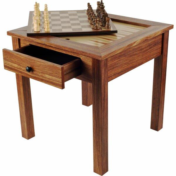 Trademark Games Chess U0026 Games Wood 3 In 1 Multi Game Table U0026 Reviews |  Wayfair