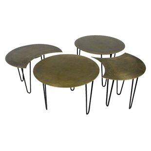 Sanderlin 4 Piece Coffee Table Set