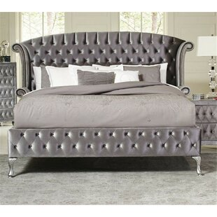 Compare prices Lavallee Upholstered Platform Bed by Rosdorf Park Reviews (2019) & Buyer's Guide