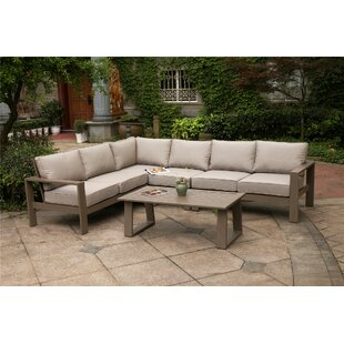 Otega 5 Piece Sectional Set with Cushions