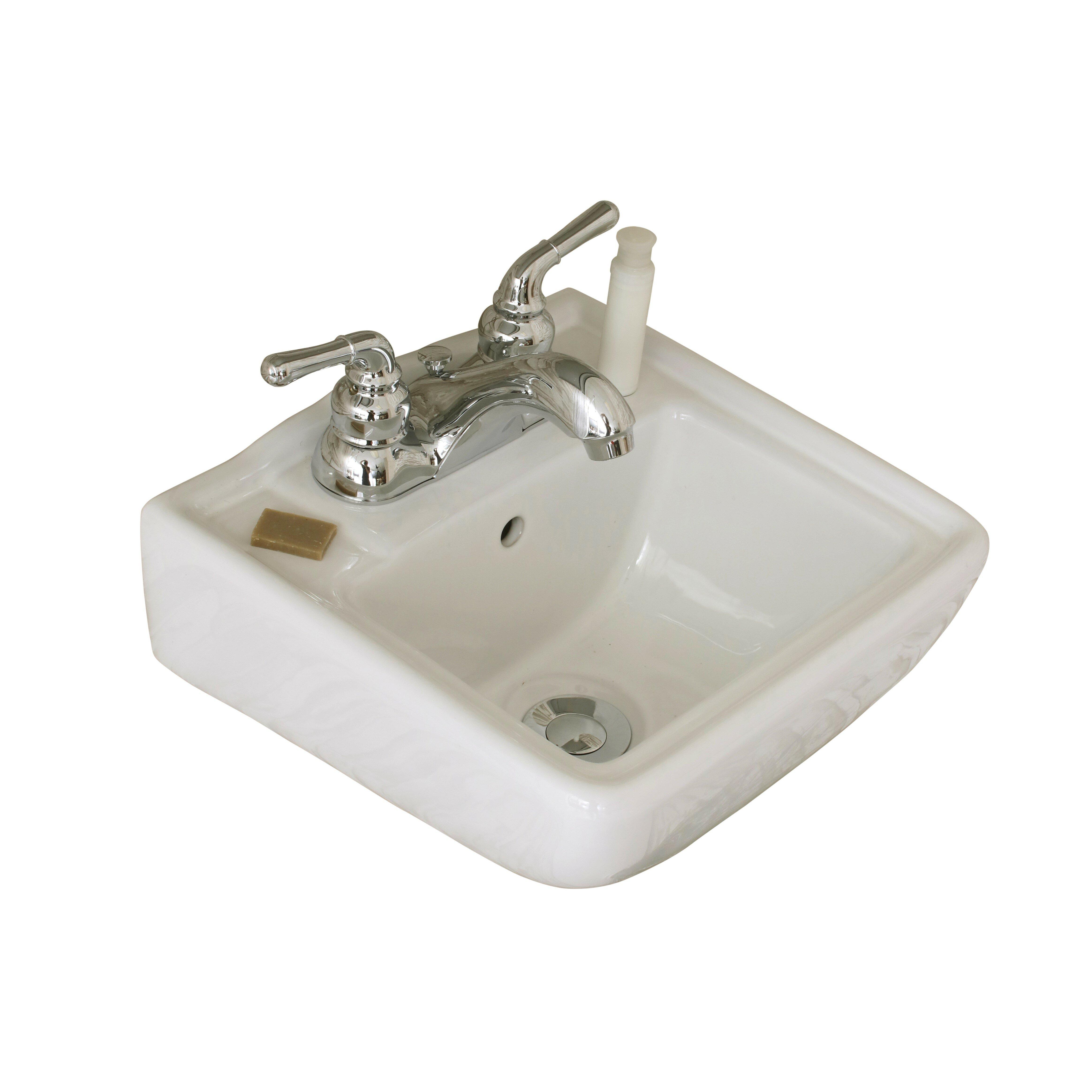 Wall Mount Bathroom Sink