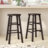 Maryln 24 Bar Stool (Set of 2) by Red Barrel Studio®